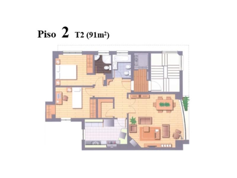Apartamento T2 Ajuda Novo