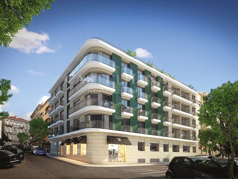 Shop with 91m2 and 3 parking spots in new devel...