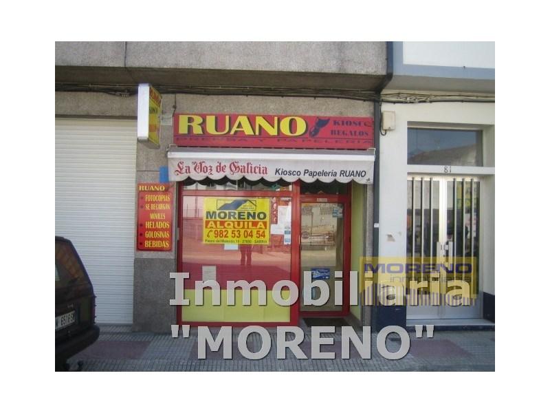 Local comercial en alquiler en Sarria