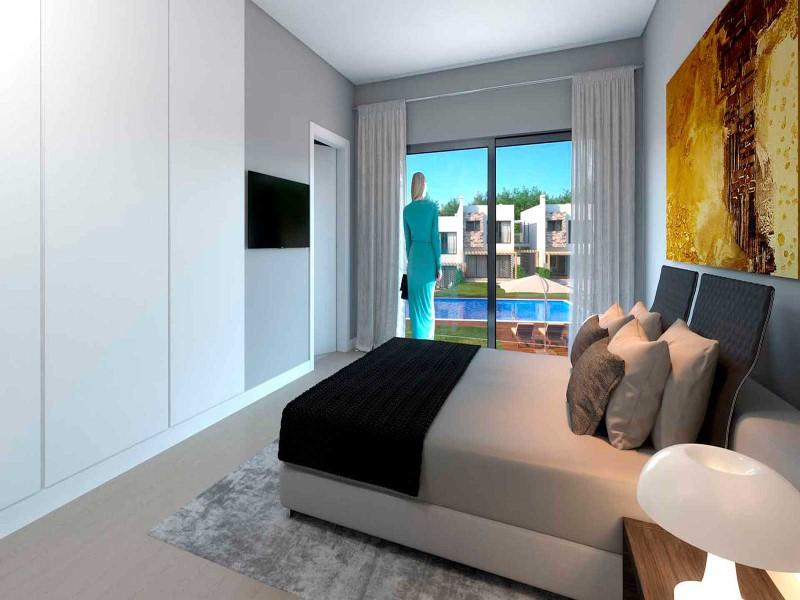 Moradias de luxo em condomínio privado a 1 Km da praia
