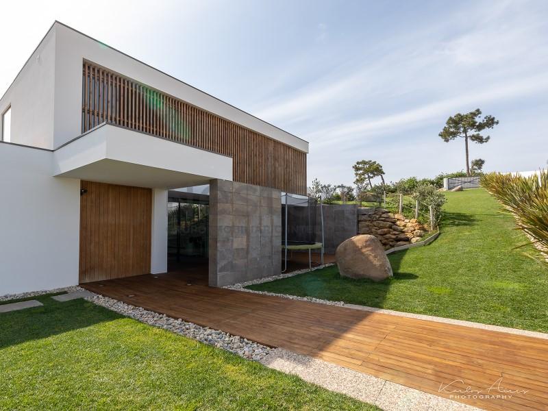 Moradia de design moderno perto da praia