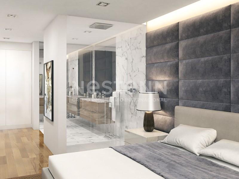Apartamento de Luxo Com Vista de Mar