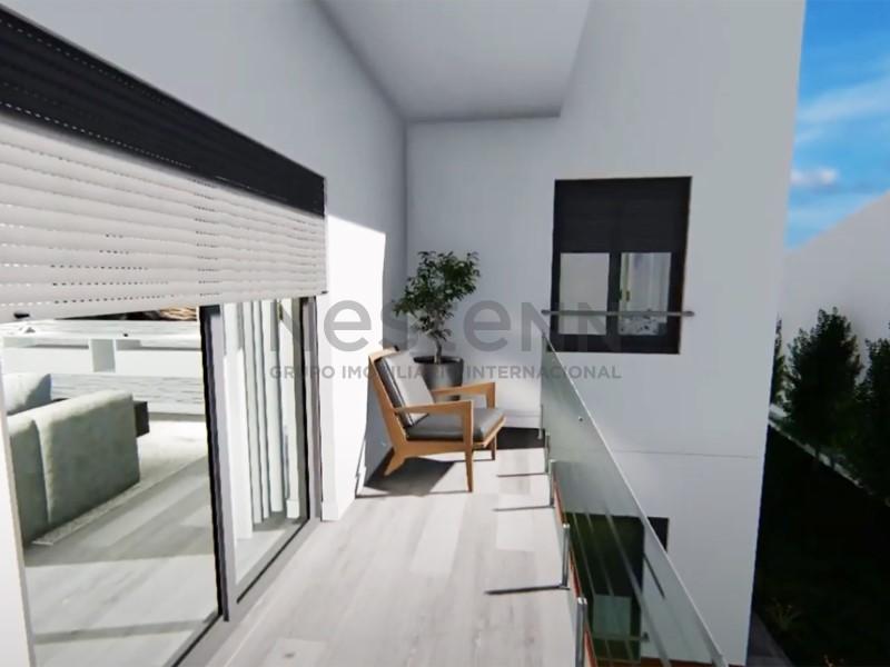 Apartamento T2 perto das Praias em construção