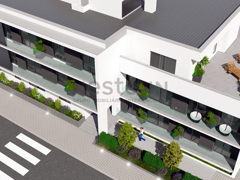 Apartamento T3 no último andar
